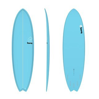 Surfboard TORQ Epoxy TET 6.10 MOD Fish Blue